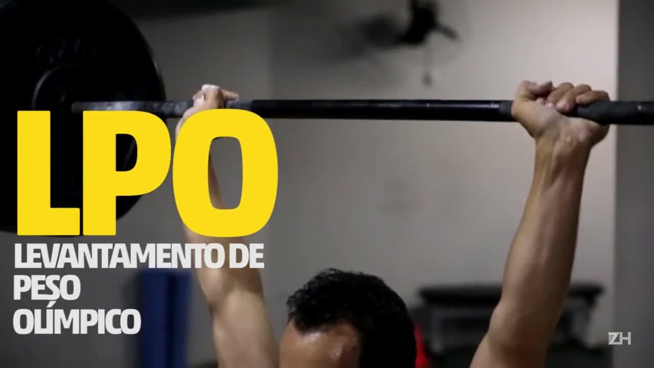 POA Olímpica: halterofilismo