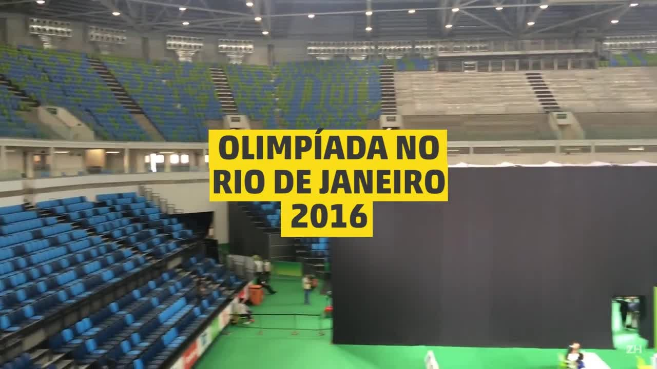 Aquecendo para o Rio