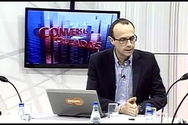 TVCOM Conversas Cruzadas. 3º Bloco. 05.08.16