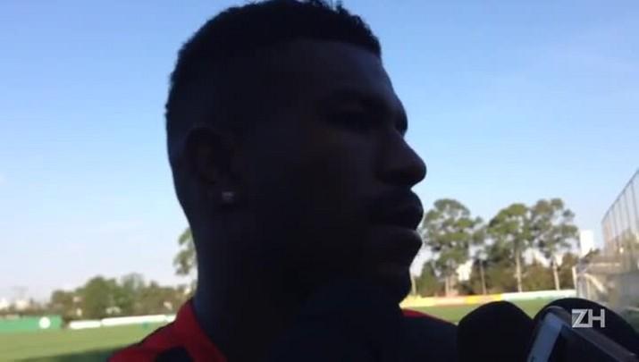 """Geferson admite que situação do Inter \""""assusta\"""""""