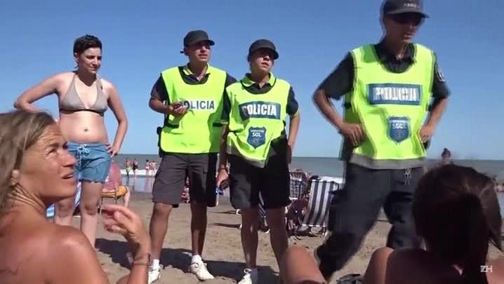 Juiz defende \'topless\' em praia argentina