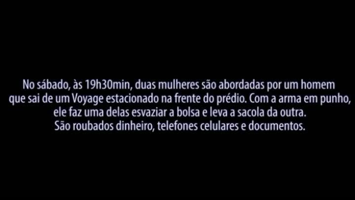 Câmeras de segurança flagram assaltos no bairro Azenha, em Porto Alegre
