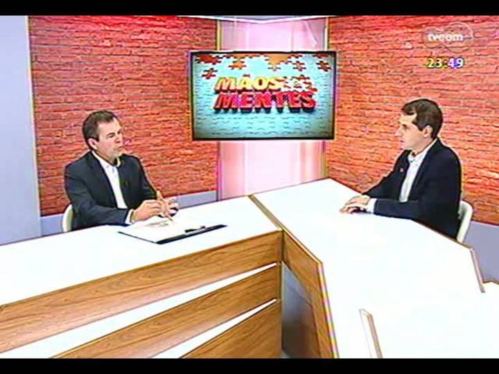 Mãos e Mentes - Pós-graduado em Gestão Estratégica e diretor da Docile, Ricardo Heineck - Bloco 2 - 22/04/2013