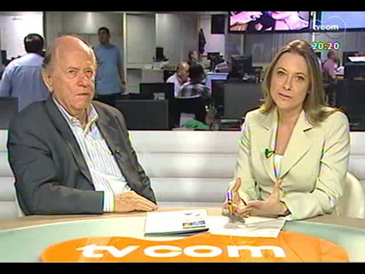 TVCOM 20 Horas - Saiba como foi o primeiro teste do Aeromóvel - Bloco 3 - 01/05/2013