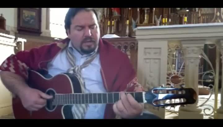 Leandro Ávila, que se apresentará na Jornada Mundial da Juventude, canta Ave Maria em versão gaúcha