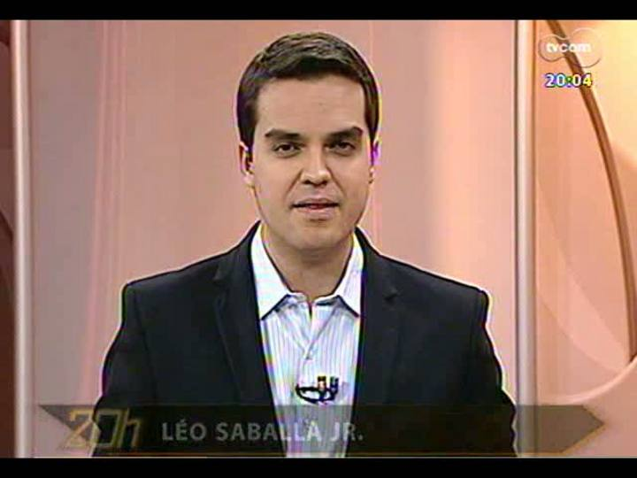 TVCOM 20 Horas - Informações sobre o susto no avião da TAM que ia para Brasília