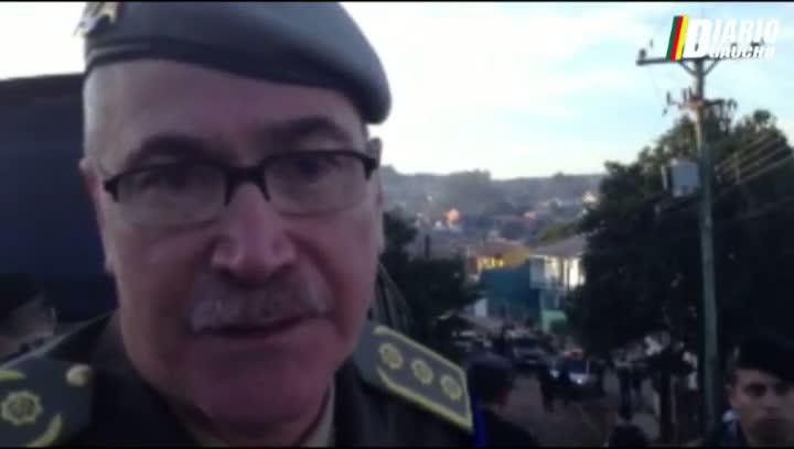 Subcomandante da BM explica ação em cárcere privado em Sapucaia do Sul