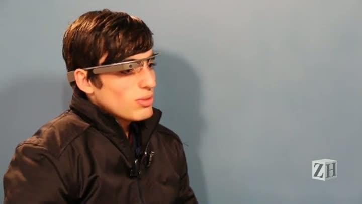 Estudante gaúcho é escolhido para testar Google Glass