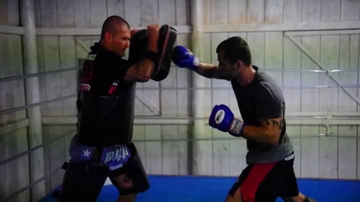 Preparação de João Zeferino para o UFC