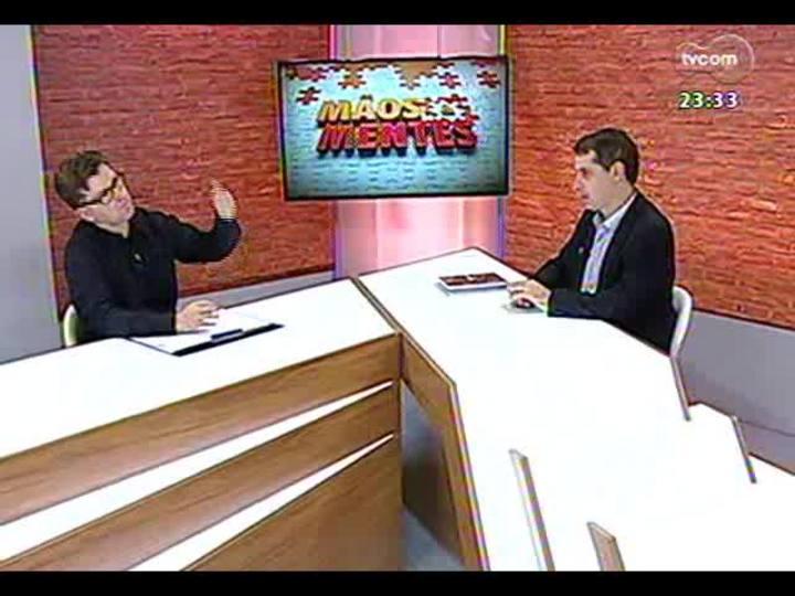 Mãos e Mentes - Cordenador do Instituto Tecnológico de Micropaleontologia da Unisinos, Gerson Faut - Bloco 1 - 05/09/2013