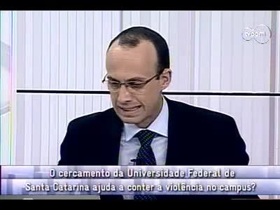 Conversas Cruzadas – Segurança na UFSC - 2º Bloco – 05/09/2013