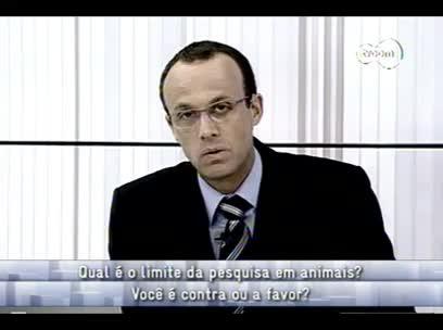 conversas Cruzadas - Pesquisa em animais 2ºbloco - 30/10/13