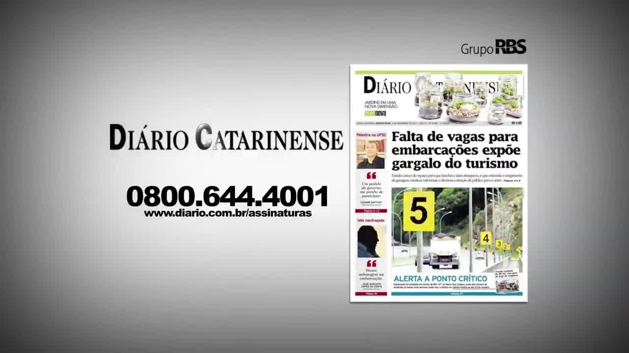 Chamadas Diário Catarinense 21 de novembro