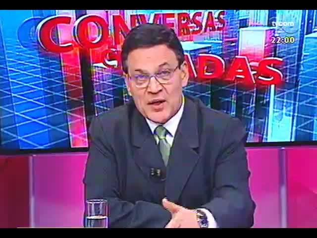 Conversas Cruzadas - Os deputados condenados pelo mensalão vão perder os mandatos? - Bloco 1 - 22/11/2013