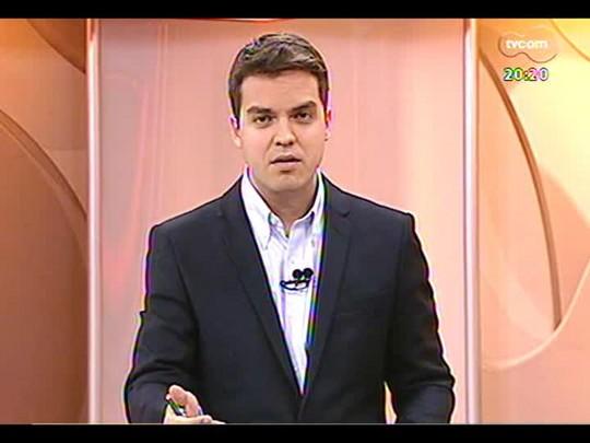 TVCOM 20 Horas - Greve dos servidores da CEE preocupa direção da companhia - Bloco 3 - 08/04/2014