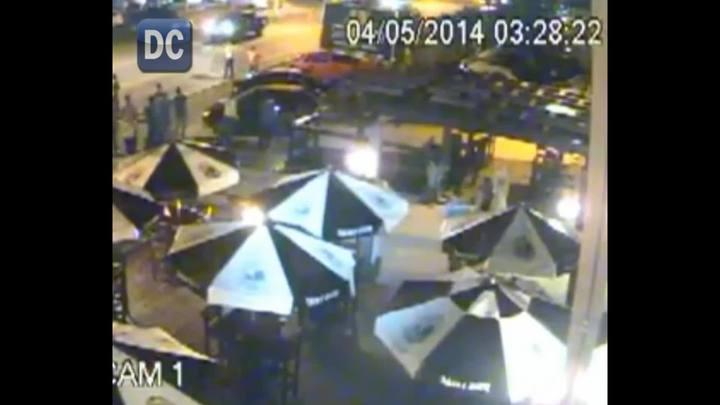 Vídeo mostra momento em que duas pessoas são atropeladas em Criciúma