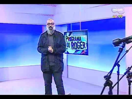 Programa do Roger - Entrevista exclusiva com Frejat - Bloco 2 - 03/07/2014