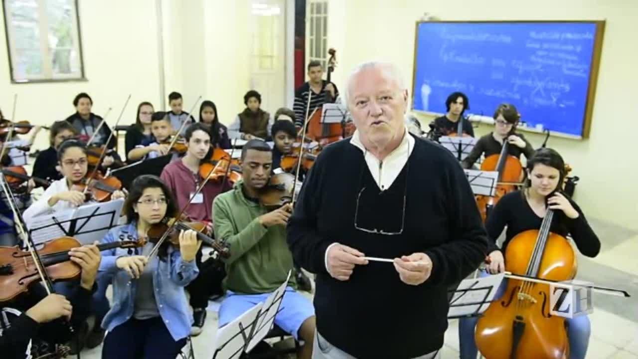 Orquestra Jovem do Rio Grande do Sul comemora 5 anos de atividades