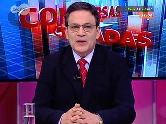 Conversas Cruzadas - Eleições 2014: entrevista com o presidente do TRE, desembargador Marco Aurélio Heinz - Bloco 1 - 29/08/2014