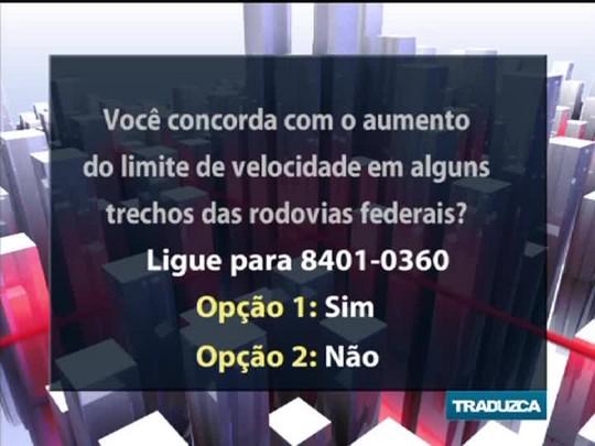 Conversas Cruzadas - A reavaliação nos limites de velocidade nas rodovias federais do RS - Bloco 2 - 01/10/2014