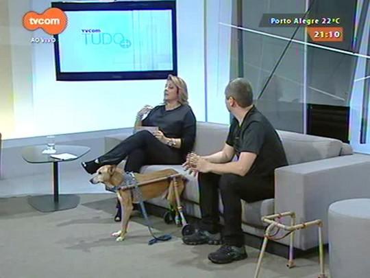 TVCOM Tudo Mais - \'Tudo+Pet\': Inventor produz cadeira de rodas para cachorros. Saiba mais