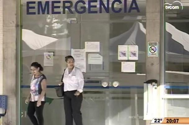 TVCOM 20h - Emergência do HU da Capital foi fechada para reformas - 17.11.14