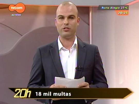 TVCOM 20 Horas - Confira o balanço da Operação Viagem Segura nas estradas durante o Natal - 29/12/2014
