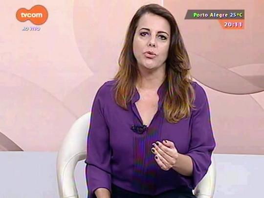 TVCOM 20 Horas - Sartori e varejistas criam grupo de trabalho para analisar impacto do imposto de fronteira - 10/03/2015