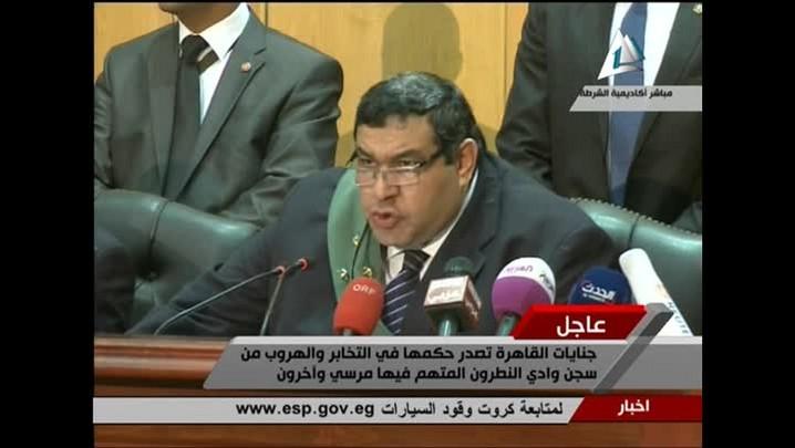 Mohamed Mursi é condenado à pena de morte