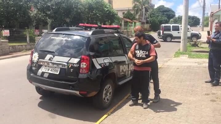 Suspeito de chacina de Pinhal Grande é preso na Região Central