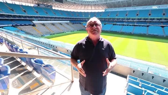 Bastidores do Pedro: Pedro Ernesto mostra como é a sala da presidência do Grêmio