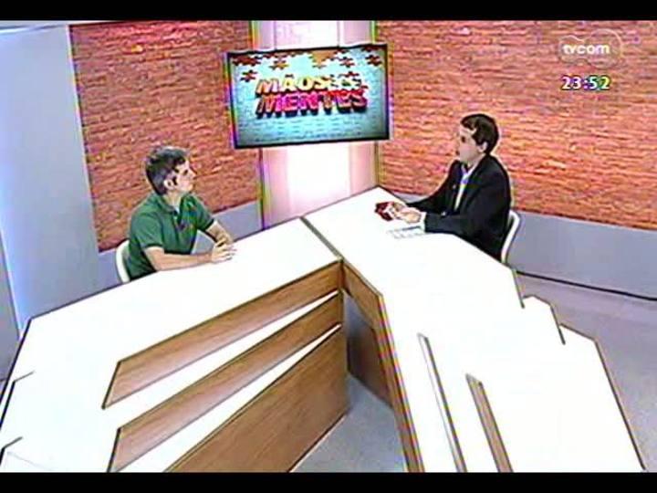 Mãos e Mentes - Sócio-proprietário do Mathemática Et Cetera, Gustavo Freitas Reis - Bloco 3 - 08/03/2013