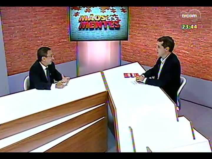 Mãos e Mentes - Estrategista de Marcas e vice-presidente de Planejamento e Marketing da ADVB, Arthur Bender - Bloco 2 - 19/03/2013