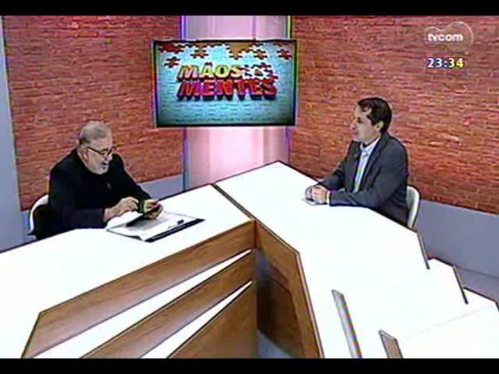 Mãos e Mentes - Professor Cláudio Moreno - Bloco 1 - 10/05/2013