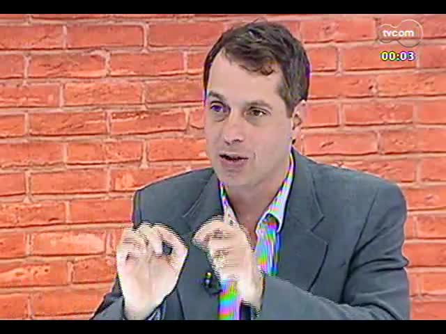 Mãos e Mentes - Superintendente do Centro de Excelência Empresarial, Paulo Tadeu Löw Bandeira - Bloco 3 - 07/10/2013