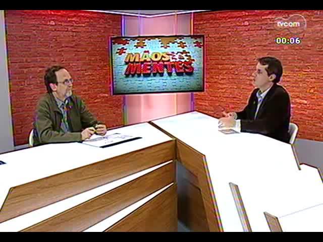 Mãos e Mentes - Patrono da 59ª Feira do Livro de Porto Alegre, Luís Augusto Fisher - Bloco 4 - 01/11/2013