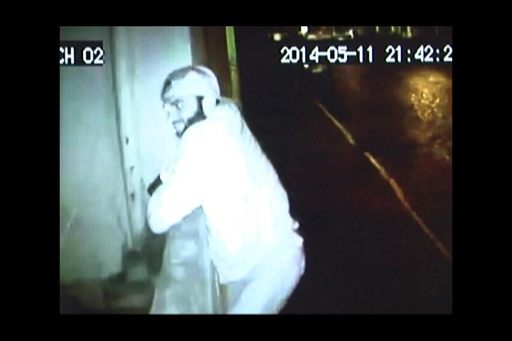 Ladrão é flagrado enquanto roubava câmeras de vigilância em Lages