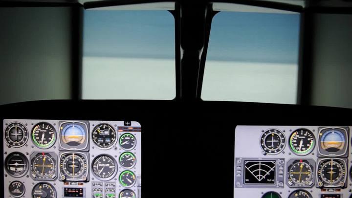 Simulador mostra as dificuldades de pousar com neblina no Salgado Filho
