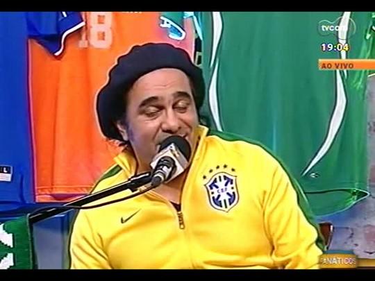 Pai Danilo adianta previsão para o jogo Brasil X Chile