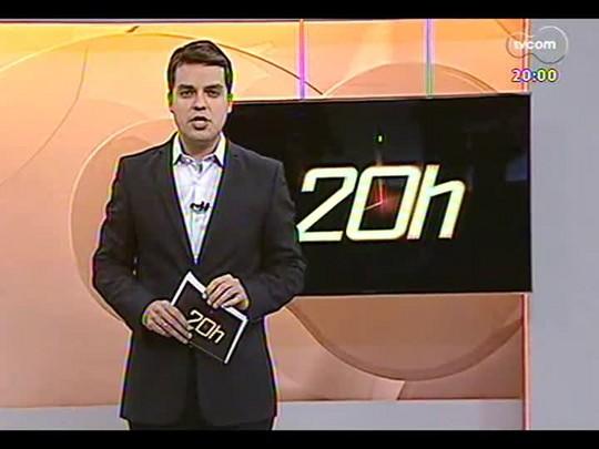 TVCOM 20 Horas - Entrevista com o candidato a governador Roberto Robaina do PSOL - Bloco 1 - 31/07/2014