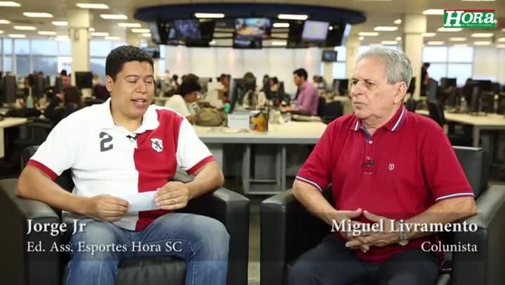 """Miguel Livramento: \""""Se o Avaí não perder já tá de bom tamanho\"""""""
