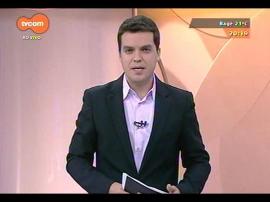 TVCOM 20 Horas - A eleição do novo presidente do Sindicato dos Rodoviários da Capital - 03/10/2014