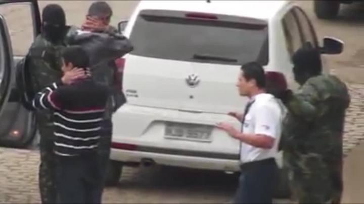 Assaltantes atacam banco em Timbó Grande