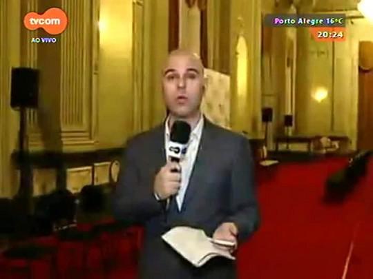 TVCOM 20 Horas - Governo terá dificuldade para passar o aumento do ICMS na Assembleia Legislativa - 20/08/2015