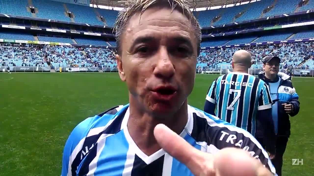 """Paulo Nunes: \""""Tá faltando o meu gol do Kidiaba\"""""""