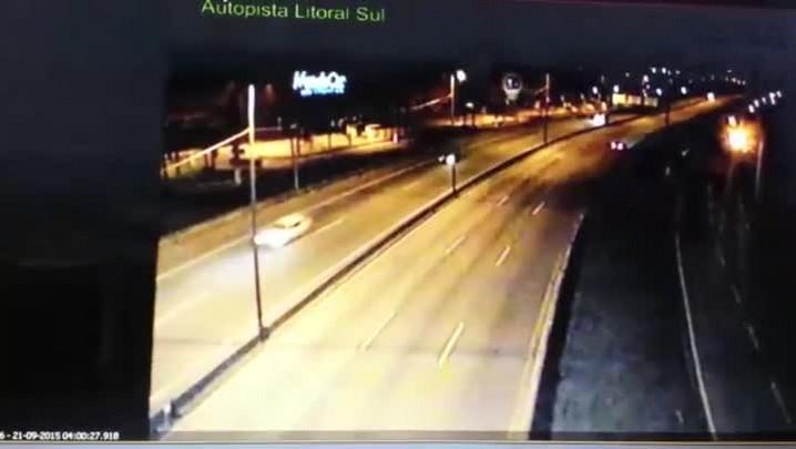 Motorista dirige 30 quilômetros pela contramão na BR-101 em Palhoça
