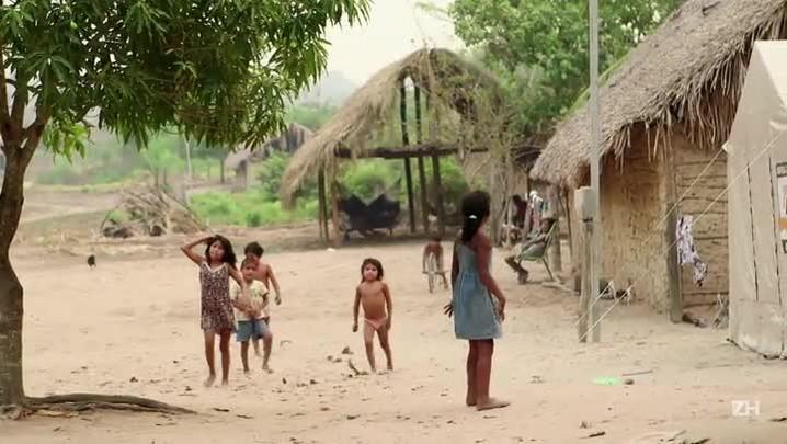 Fogo ameaça índios no Maranhão