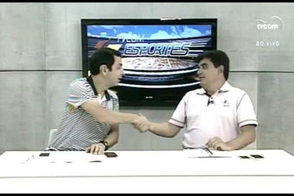 TVCOM Esportes. 1º Bloco. 08.01.16