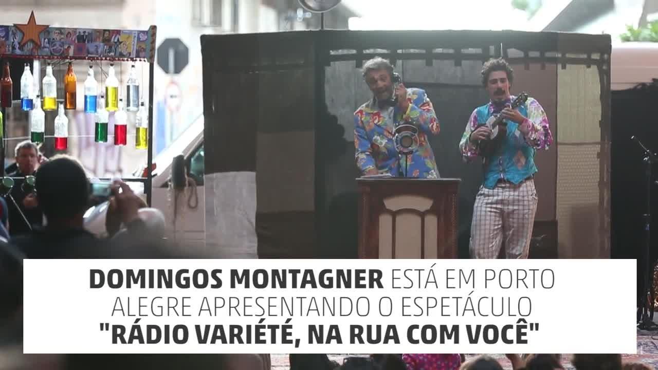 Domingos Montagner em Porto Alegre