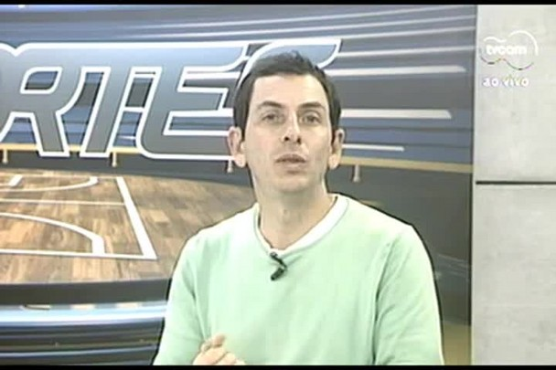 TVCOM Esportes. 3º Bloco. 13.07.16